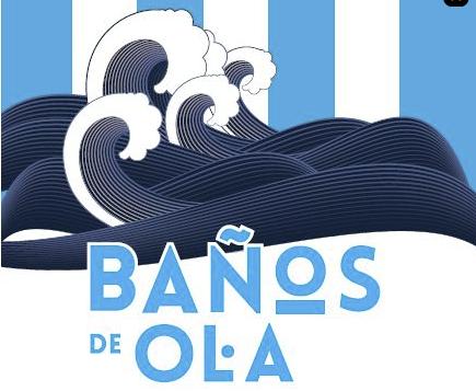 LOS BALNEARIOS DE CANTABRIA PRESENTES UN AÑO MAS EN LOS BAÑOS DE OLA DE SANTANDER