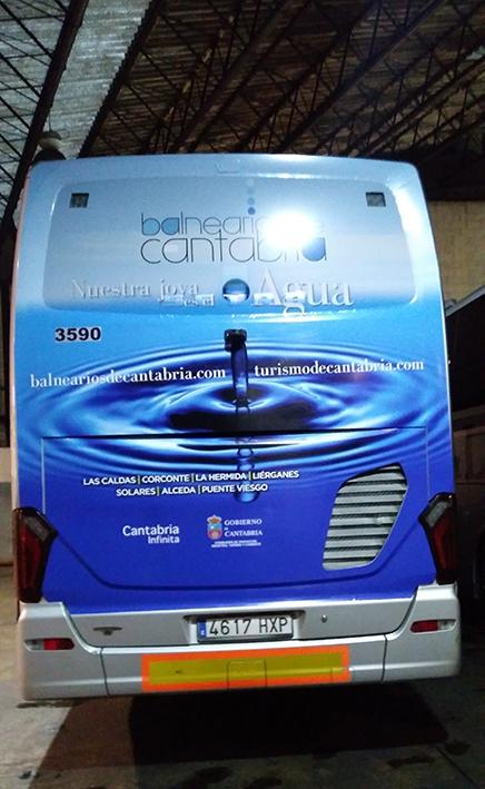 LOS BALNEARIOS DE CANTABRIA SE PROMOCIONAN EN AUTOBUS