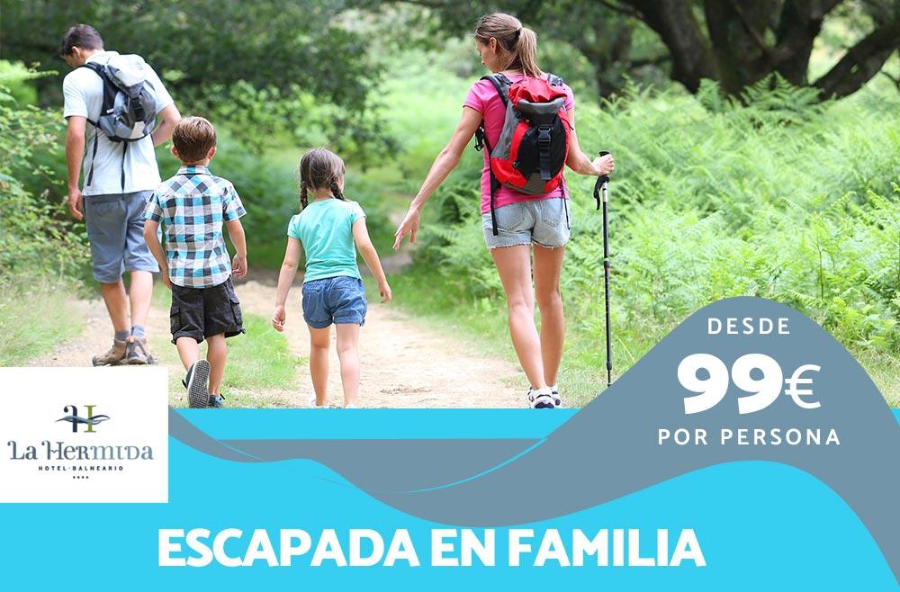 Especial Vacaciones en Familia en Balneario La Hermida