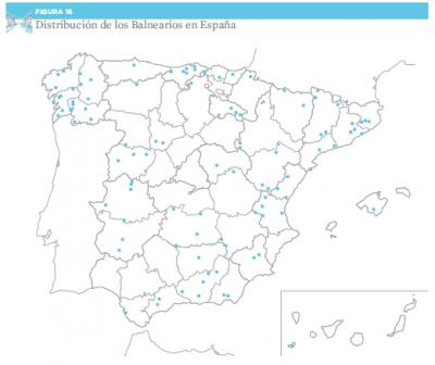 """Gráficos obtenidos del Informe """"Turismo Termal en España"""" de la EOI"""