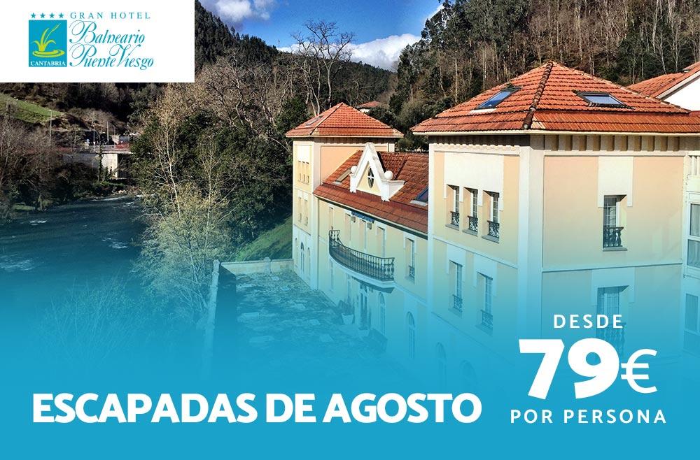 Escápate en Agosto al Balneario de Puente Viesgo
