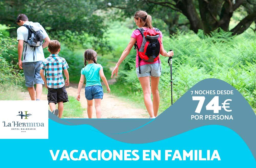 Vacaciones en Familia en Balneario La Hermida