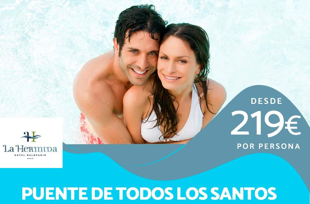Festividad de Todos los Santos en el Balneario La Hermida