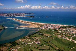 Vista general de Santander